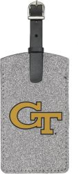 GEORGIA TECH SPARKLE BAG TAG