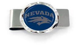 NEVADA RENO DIAMOND CUT MONEY CLIP