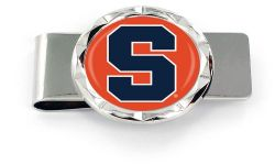SYRACUSE DIAMOND CUT MONEY CLIP