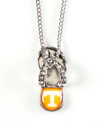 TENNESSEE (CLEAR) FLIP FLOP PENDANT