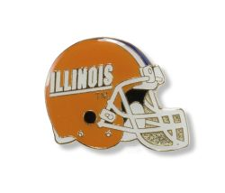 ILLINOIS HELMET PIN