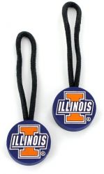 ILLINOIS ZIPPER PULL (2 PACK)