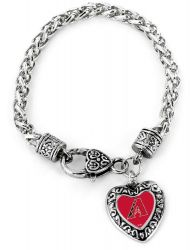 DIAMONDBACKS HEART BRACELET