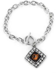 ORIOLES CRYSTAL DIAMOND BRACELET