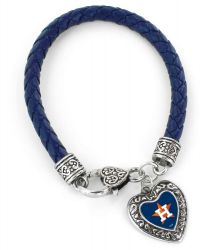 ASTROS (NAVY BLUE) BRAIDED BRACELET