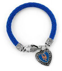 METS (BLUE) BRAIDED BRACELET