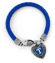 RANGERS (BLUE) BRAIDED BRACELET