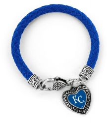 ROYALS (BLUE) BRAIDED BRACELET