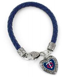 TWINS  (NAVY BLUE) BRAIDED BRACELET