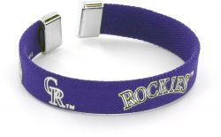 "ROCKIES 1/2"" RIBBON BRACELET"