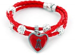 ANGELS (RED) BRAIDED CORDS BRACELET (OC)