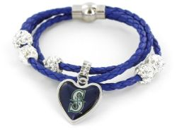 MARINERS (BLUE) BRAIDED CORDS BRACELET (OC)