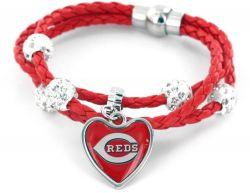 REDS (RED) BRAIDED CORDS BRACELET (OC)