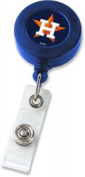 ASTROS (WHITE) BADGE REEL  (NE)