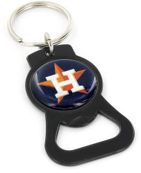 ASTROS (BLACK) BOTTLE OPENER KEYCHAIN
