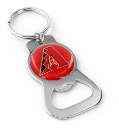 DIAMONDBACKS METAL BOTTLE OPENER KEYCHAIN