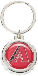 DIAMONDBACKS BOTTLE CAP BOTTLE OPENER KEYCHAIN
