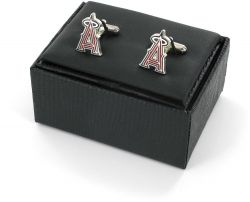 ANGELS CUTOUT CUFF LINKS WITH BOX