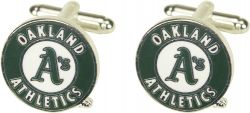 ATHLETICS CUTOUT CUFF LINKS WITH BOX