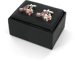 BRAVES CUTOUT CUFF LINKS WITH BOX