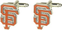 GIANTS CUTOUT CUFF LINKS WITH BOX