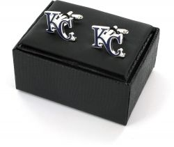 ROYALS CUTOUT CUFF LINKS WITH BOX