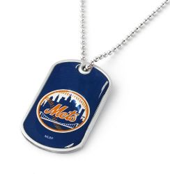 METS DOMED DOG TAG