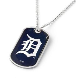 TIGERS DOMED DOG TAG (NEW PRIMARY D)