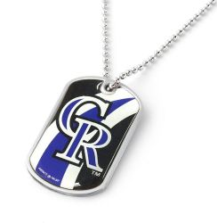 ROCKIES DYNAMIC DOG TAG