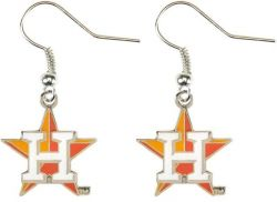 ASTROS LOGO DANGLER EARRINGS