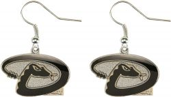 DIAMONDBACKS LOGO DANGLER EARRINGS