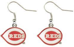 REDS LOGO DANGLER EARRINGS