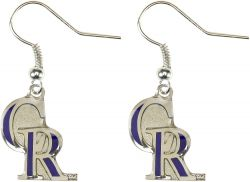 ROCKIES LOGO DANGLER EARRINGS