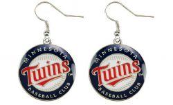 TWINS (TC) LOGO DANGLER EARRINGS