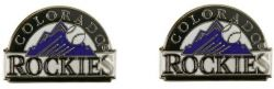 ROCKIES TEAM POST EARRINGS