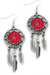 DIAMONDBACKS DREAM CATCHER EARRINGS