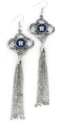 ASTROS CHARMED TASSEL EARRINGS