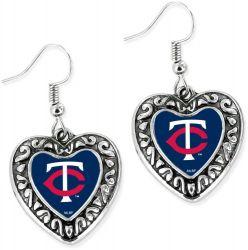 TWINS HEART EARRINGS