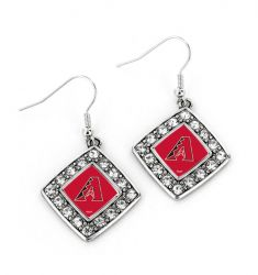 DIAMONDBACKS CRYSTAL DIAMOND EARRINGS