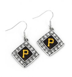 PIRATES CHARMED CRYSTAL DIAMOND EARRINGS