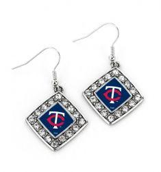 TWINS CRYSTAL DIAMOND EARRINGS
