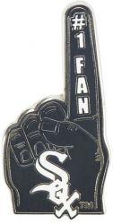 WHITE SOX #1 FAN PIN