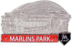 MARLINS PARK STADIUM PIN 2.0
