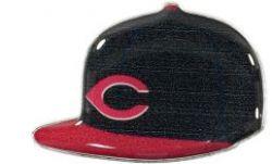 REDS ALT ON FIELD CAP PIN
