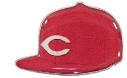 REDS HOME ON FIELD CAP PIN