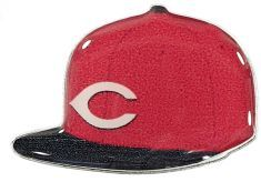 REDS ROAD ON FIELD CAP PIN