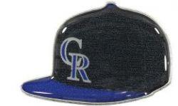 ROCKIES ALT1 ON FIELD CAP PIN