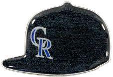 ROCKIES HOME ON FIELD CAP PIN