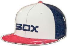 WHITE SOX ALT ON FIELD CAP PIN