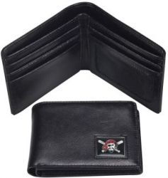 PIRATES LEATHER RFID TRAVEL WALLET (OC)